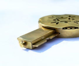 Cryptex Type_c. Flash Drive With Secret Mechanical Lock