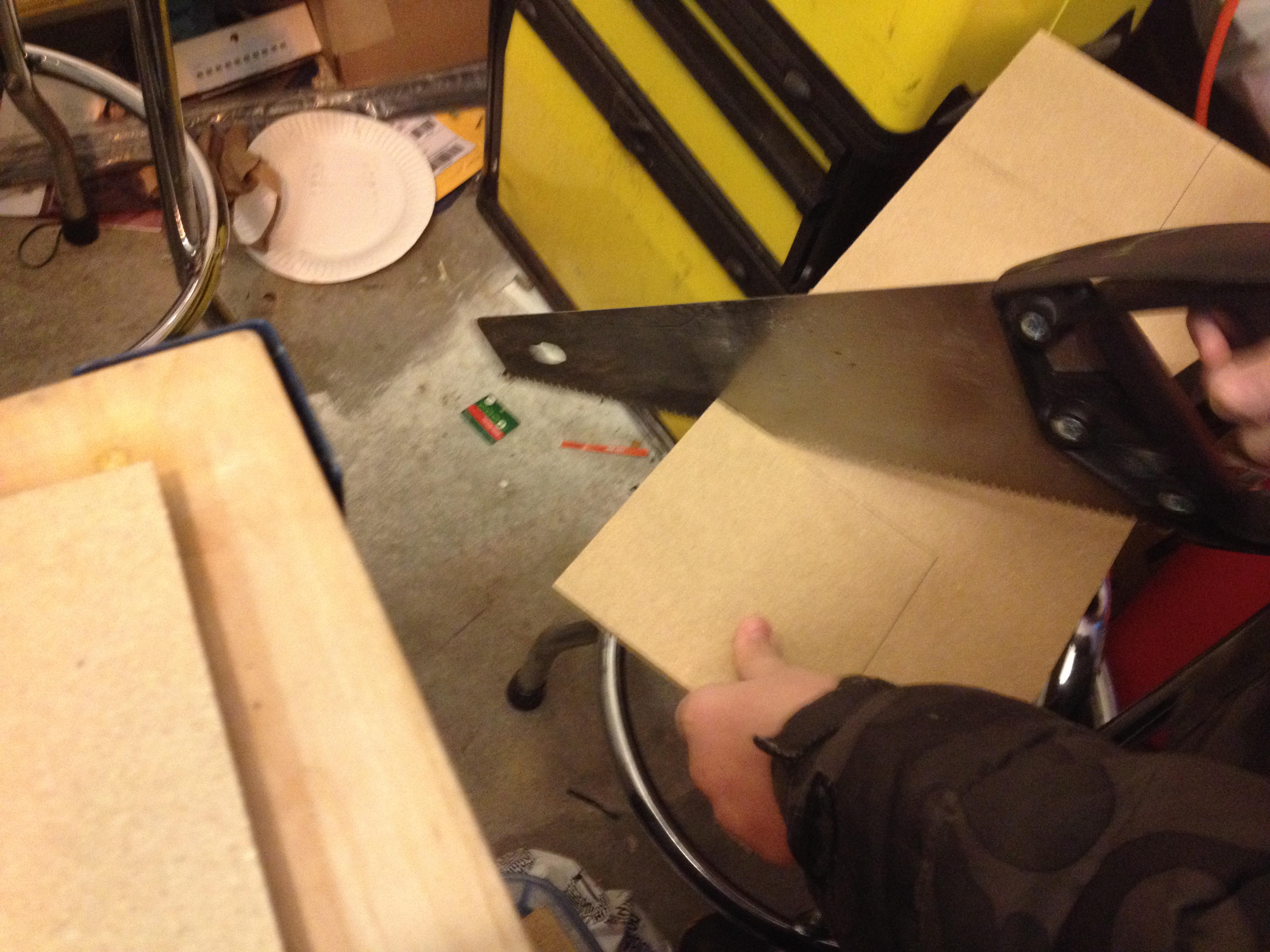 Picture of Cutting Out the Wooden Box