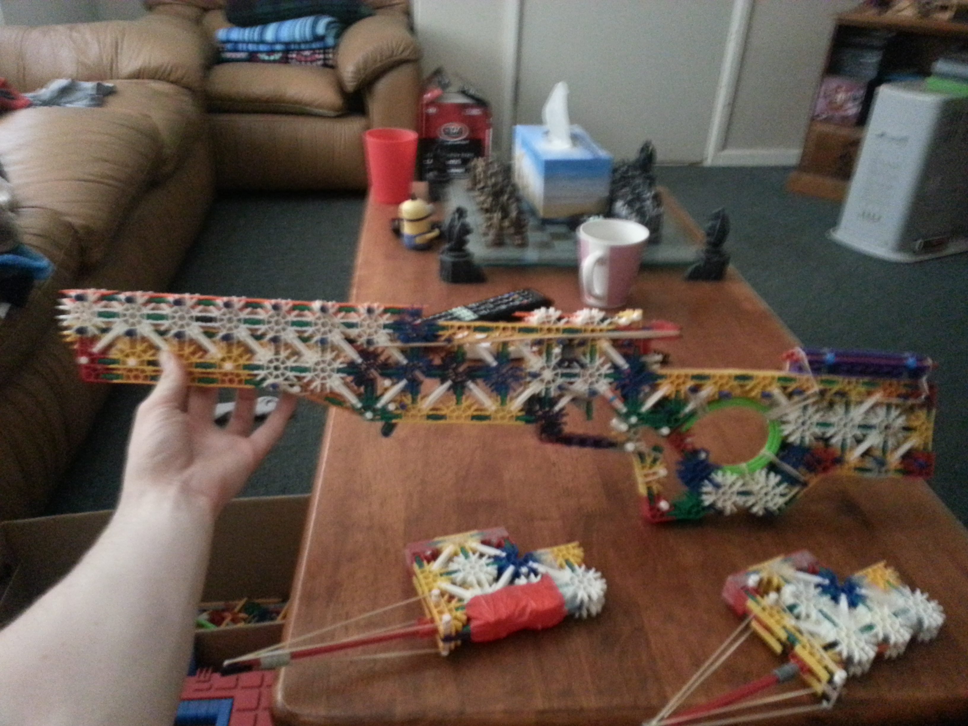 Picture of K'nex L96A1 Sniper Rifle + New Addition the Judge