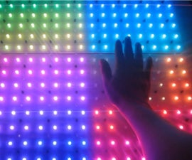 INTERACTIVE RGB LED TABLE