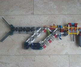 Mahmel's shell-ejecting k'nex gun