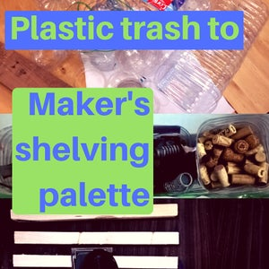 Maker's Shelving Palette