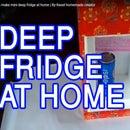 How to Make Mini Deep Fridge at Home | by Rasel Homemade Creator