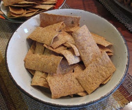 Olive Oil Wheat Crackers