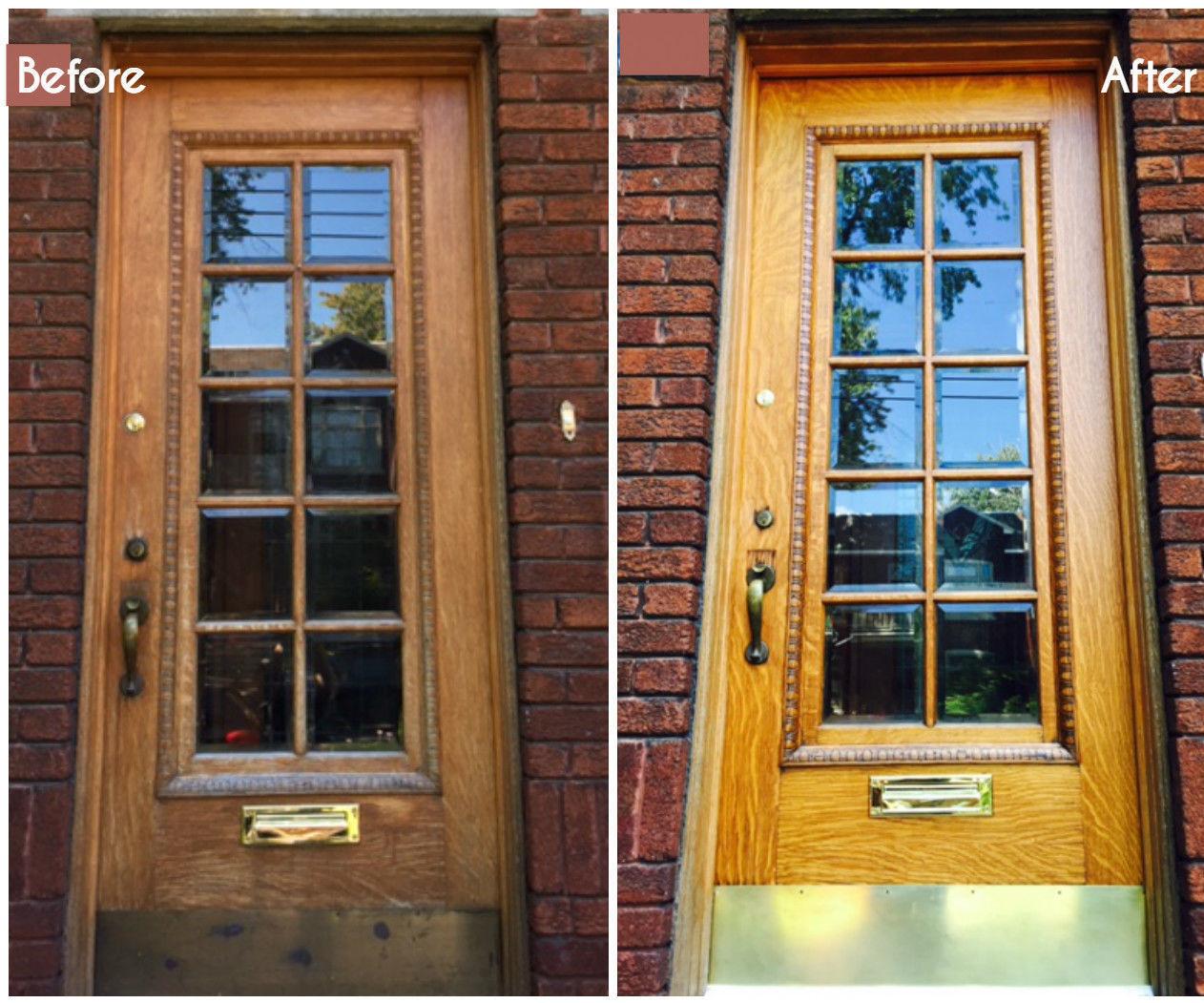 Do-it-yourself door restoration 52