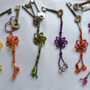 Colourful Key Chains-Rainbow