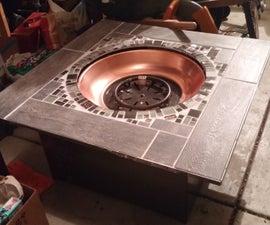 Custom Propane Fireplace