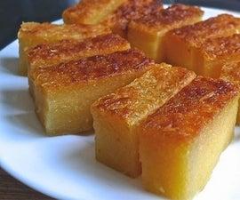 Baked Cassava (Tapioca) Cake