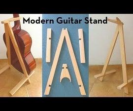 Make a Modern Guitar Stand