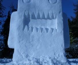 Snow Domo-Kun