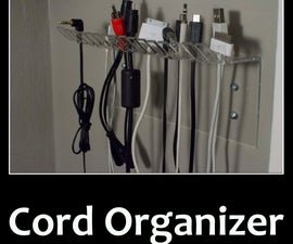 Easy Cord Organizer for $4