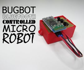 Bugbot Bluetooth Controlled Micro Robot
