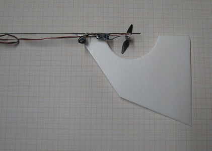 Flying and Fitting a Tail Fin