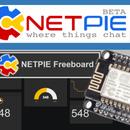 ESP8266 NodeMCU, Netpie.io & Freeboard.io