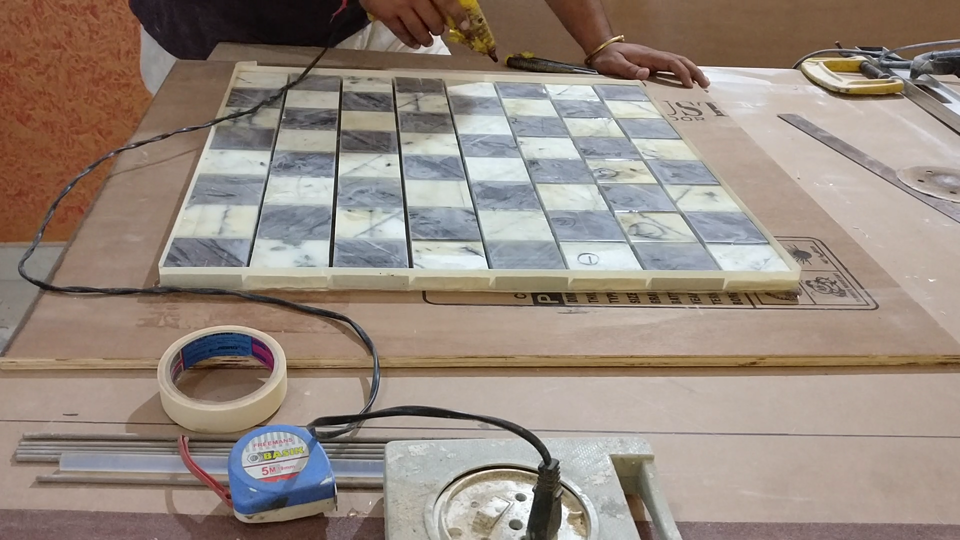 Picture of ​Creating the Chess Pattern