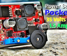 Make Variable DC Lab Bench Power Supply That Fits In Your Pocket !
