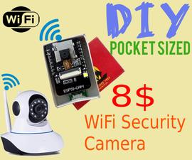 Wireless Security Camera in a Matchbox