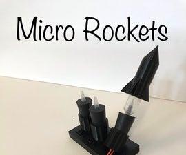 Micro Rockets - Chemistry Culminating Activity