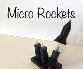 Micro Rockets - Chemistry Culminating Activity