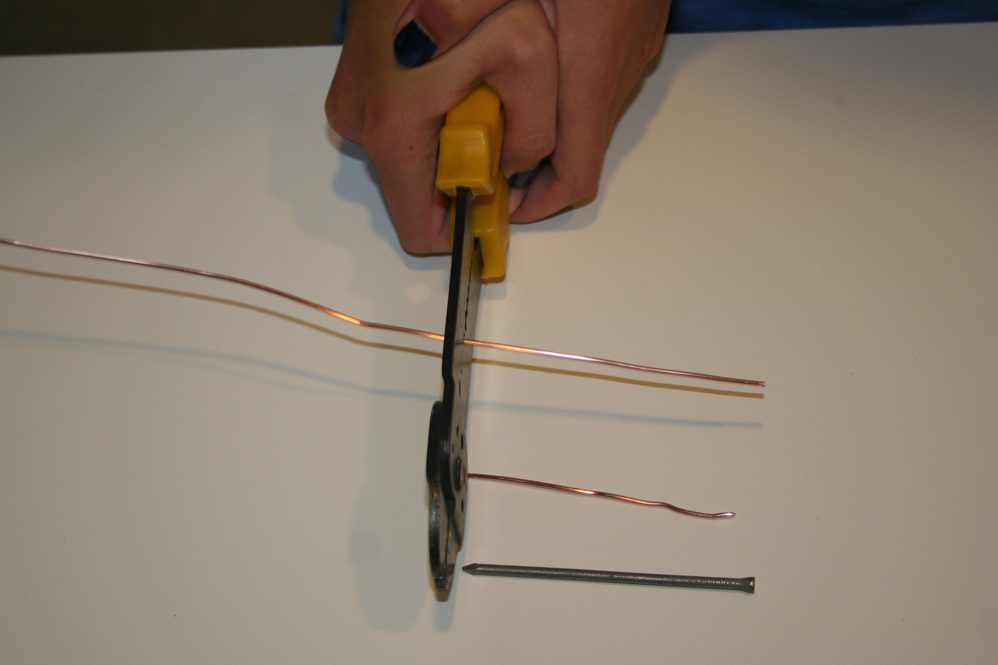 Picture of Getting Copper Wire