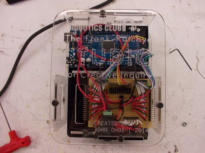 Creating the Electronics.