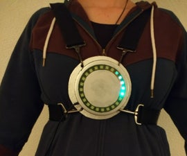Arduino - Rotating Led on Movement - Wearable Item (inspired by Chronal Accelerator Tracer Overwatch)
