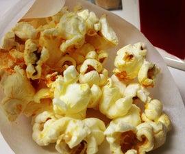 Sriracha, Sesame & Garlic Popcorn