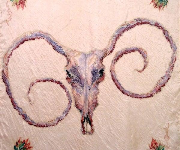 Batik Silk Scarves
