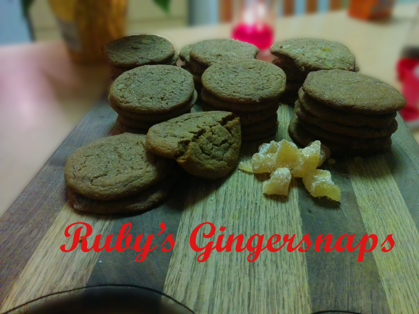 Picture of Ruby's Gingersnaps