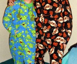 Grownm-up onsie pajamas