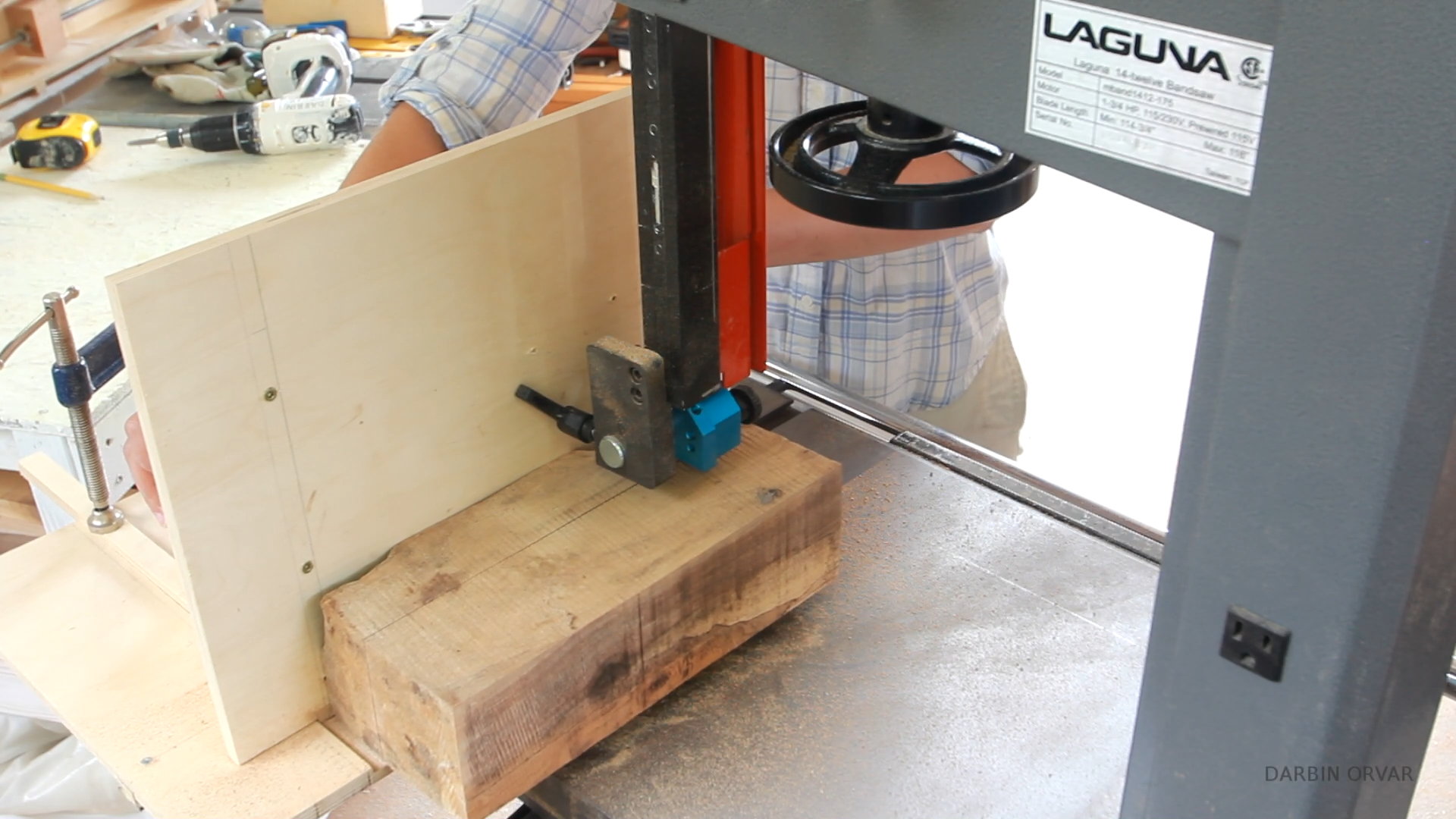 Picture of Milling Up the Wood