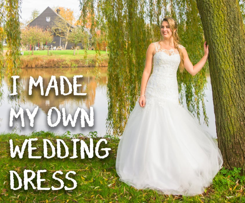 I Made My Own Wedding Dress 16 Steps With Pictures Instructables,Wedding Guest Dress Classy White Dress Styles