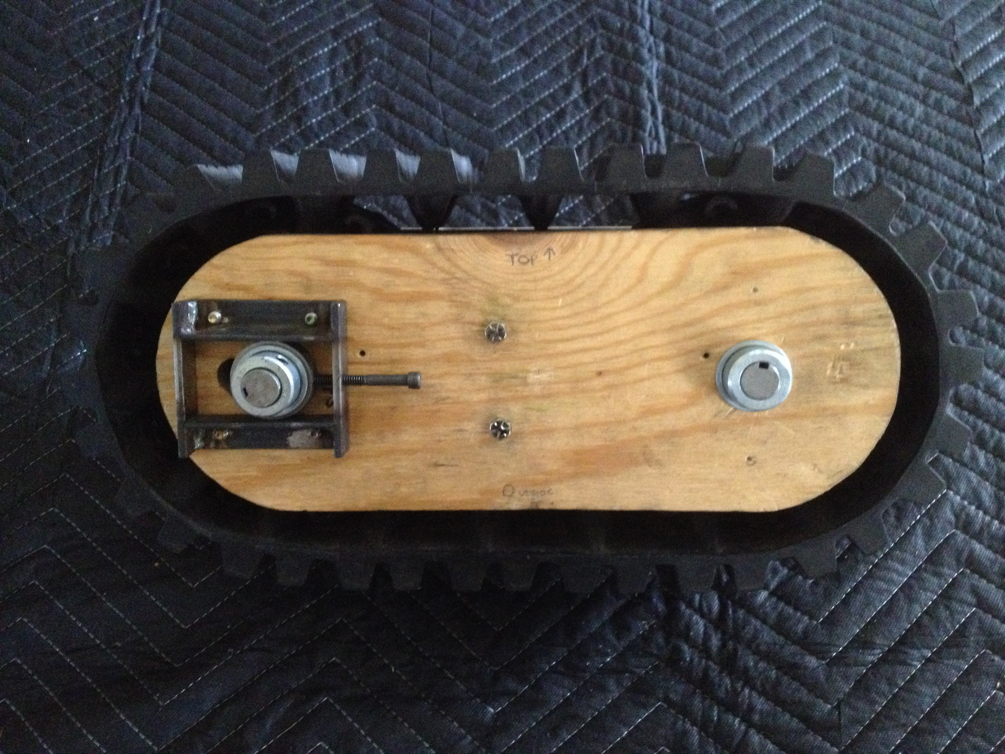 Picture of Track Assembly Continued