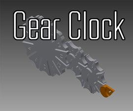 Geneva Drive Gear Clock