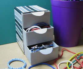Cardboard Stationery Drawers