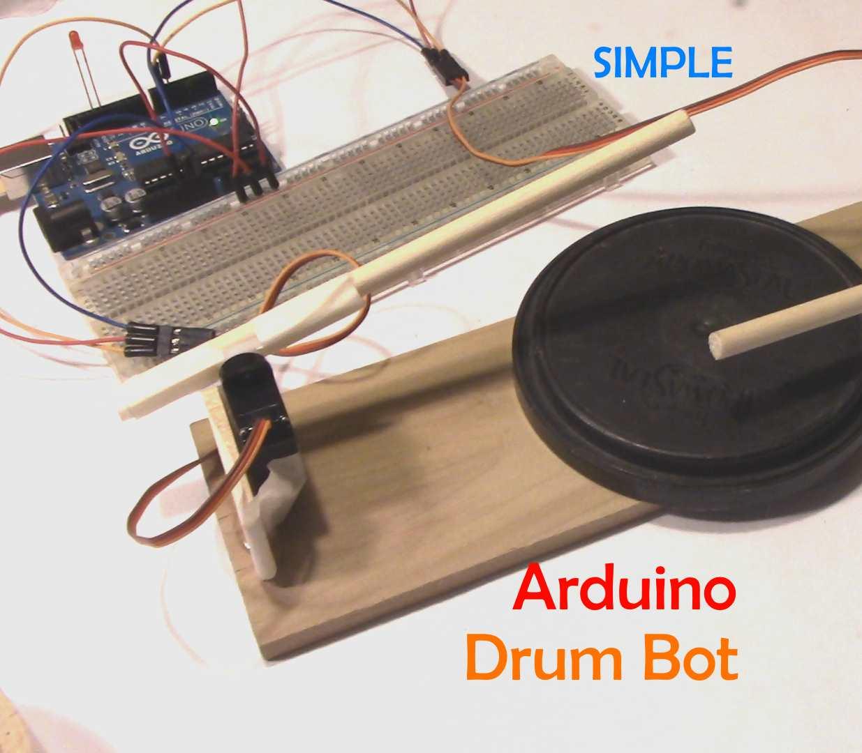 Picture of Simple Arduino Drum Robot