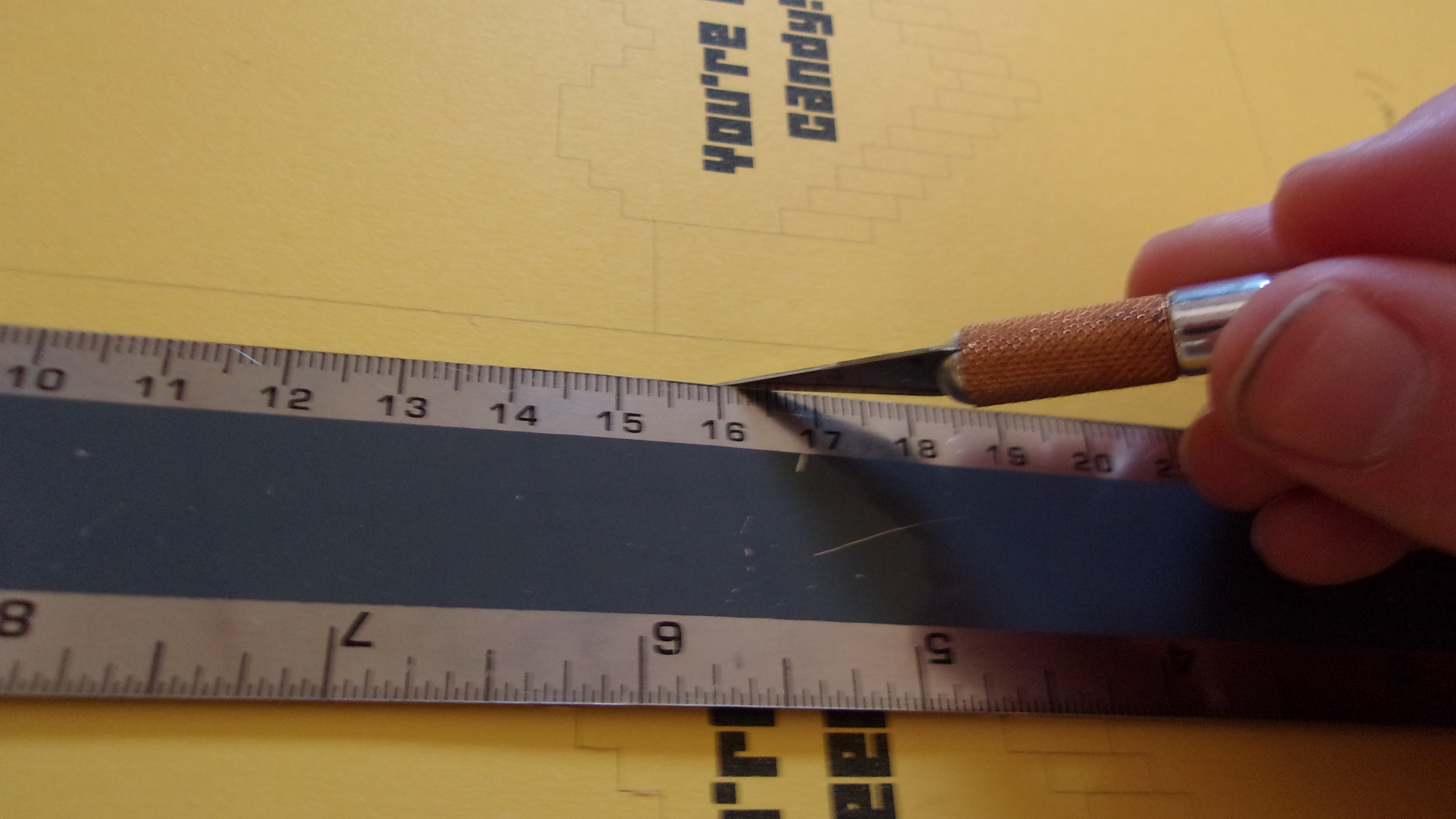 Picture of Scoring and Cutting
