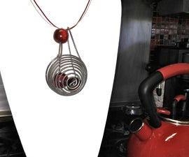 """""""Whisk Me Away"""" ( Vintage Kitchen Tool Necklace)"""
