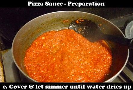 Preparing the Pizza Sauce
