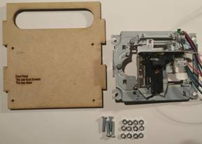 Step 7a – Mount X/Z Drives to Frame