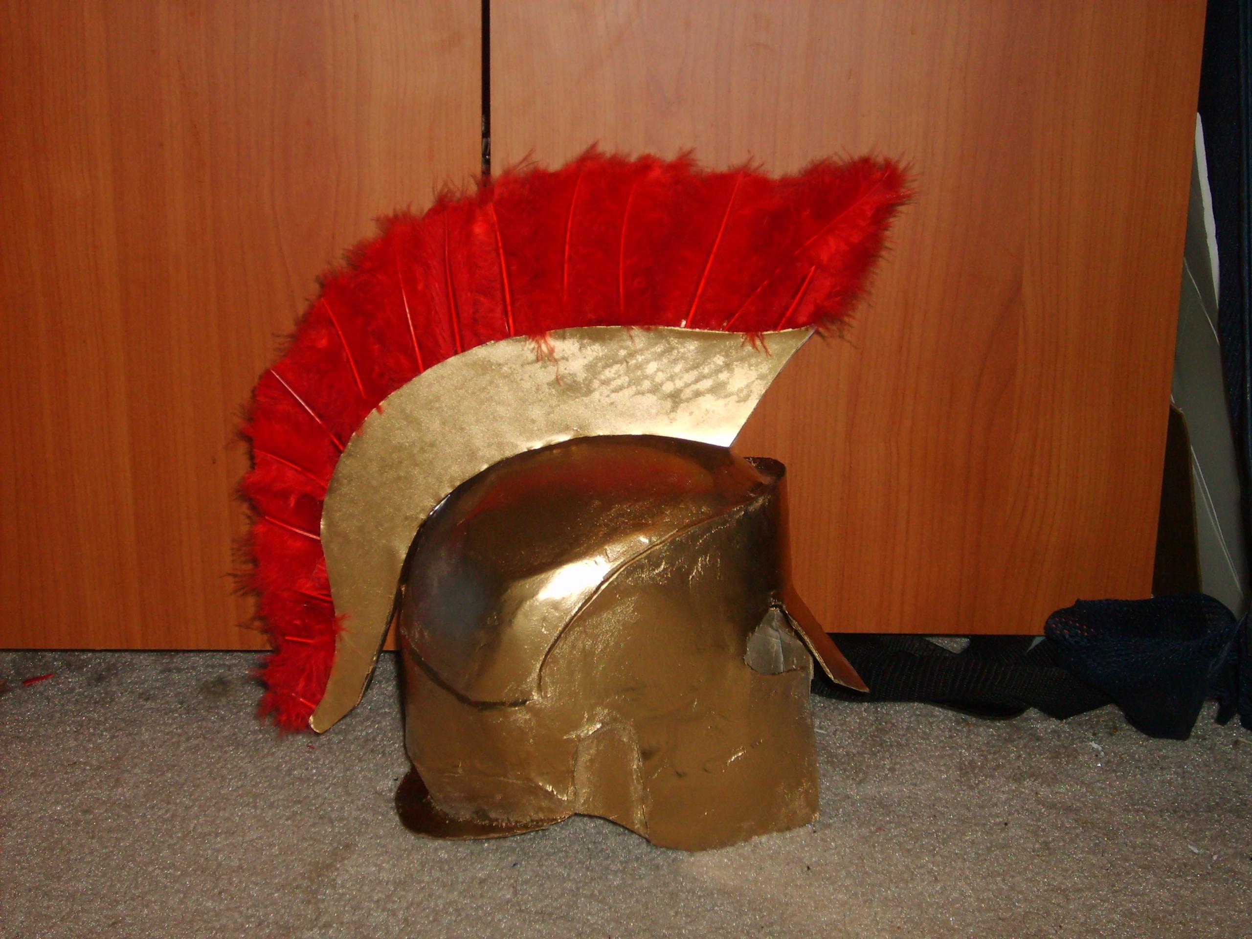 Picture of My Greek Helmet