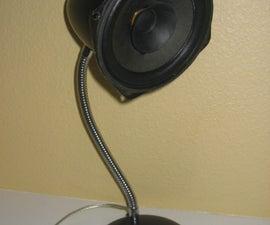 Speaker lamp hack