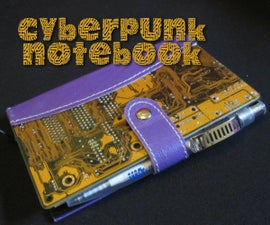 Cyberpunk notebook