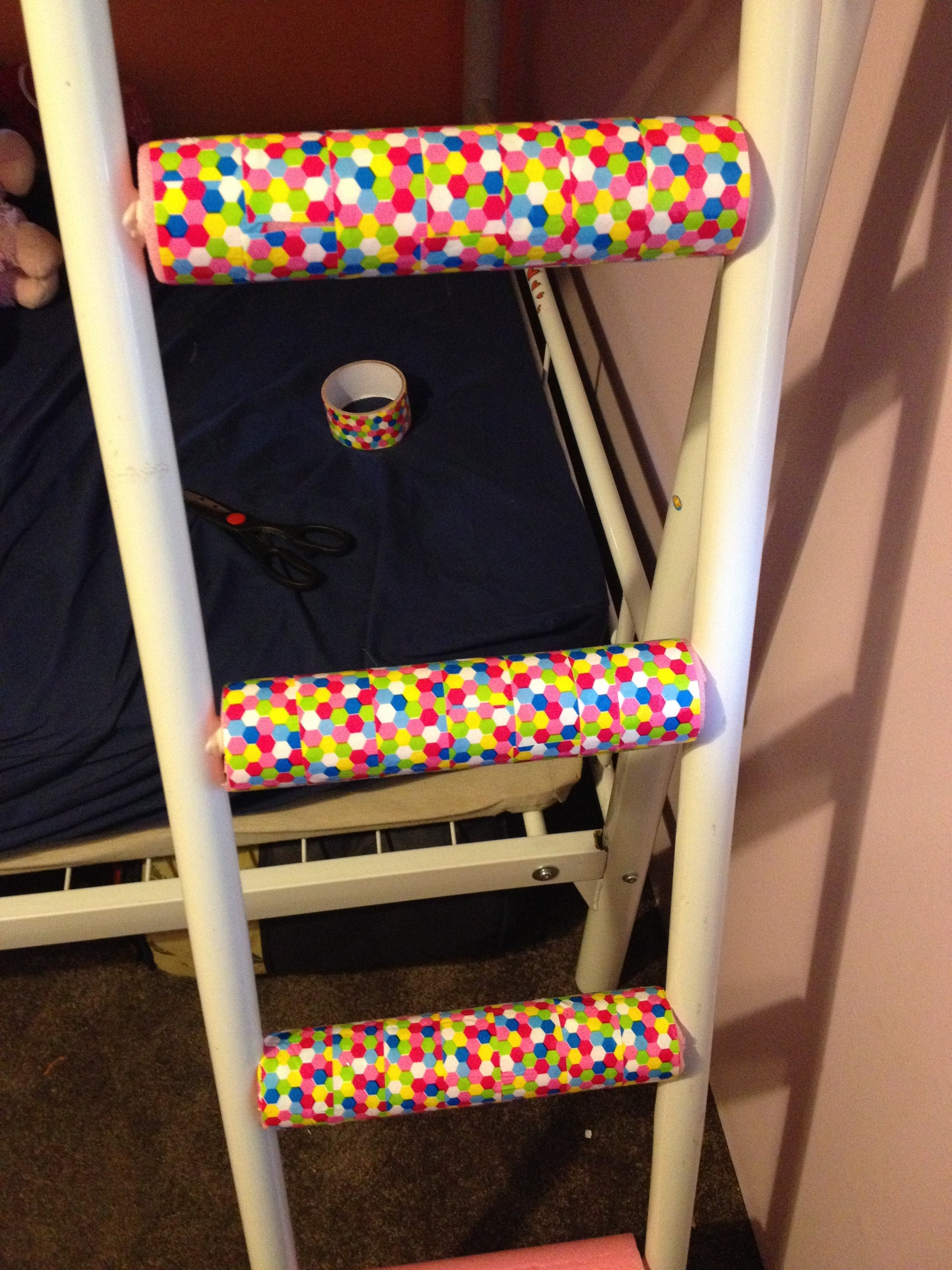 Bunk Bed Ladder Fix 5 Steps With Pictures