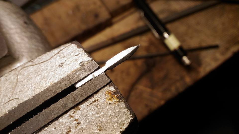 Picture of Throwing Knives for Assassin - Level 1 (from Bicycle Spoke)