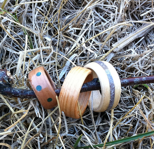 Picture of Bent Wood Rings