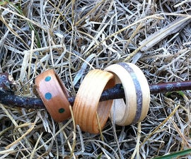 Bent Wood Rings