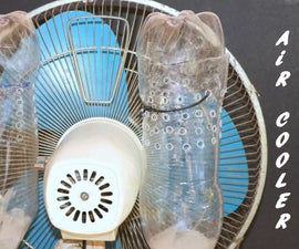 How to Make AIR CONDITIONER at Home Using Plastic Bottle and Old Fan