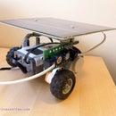 Solar Powered Lego Mindstorms NXT Robot