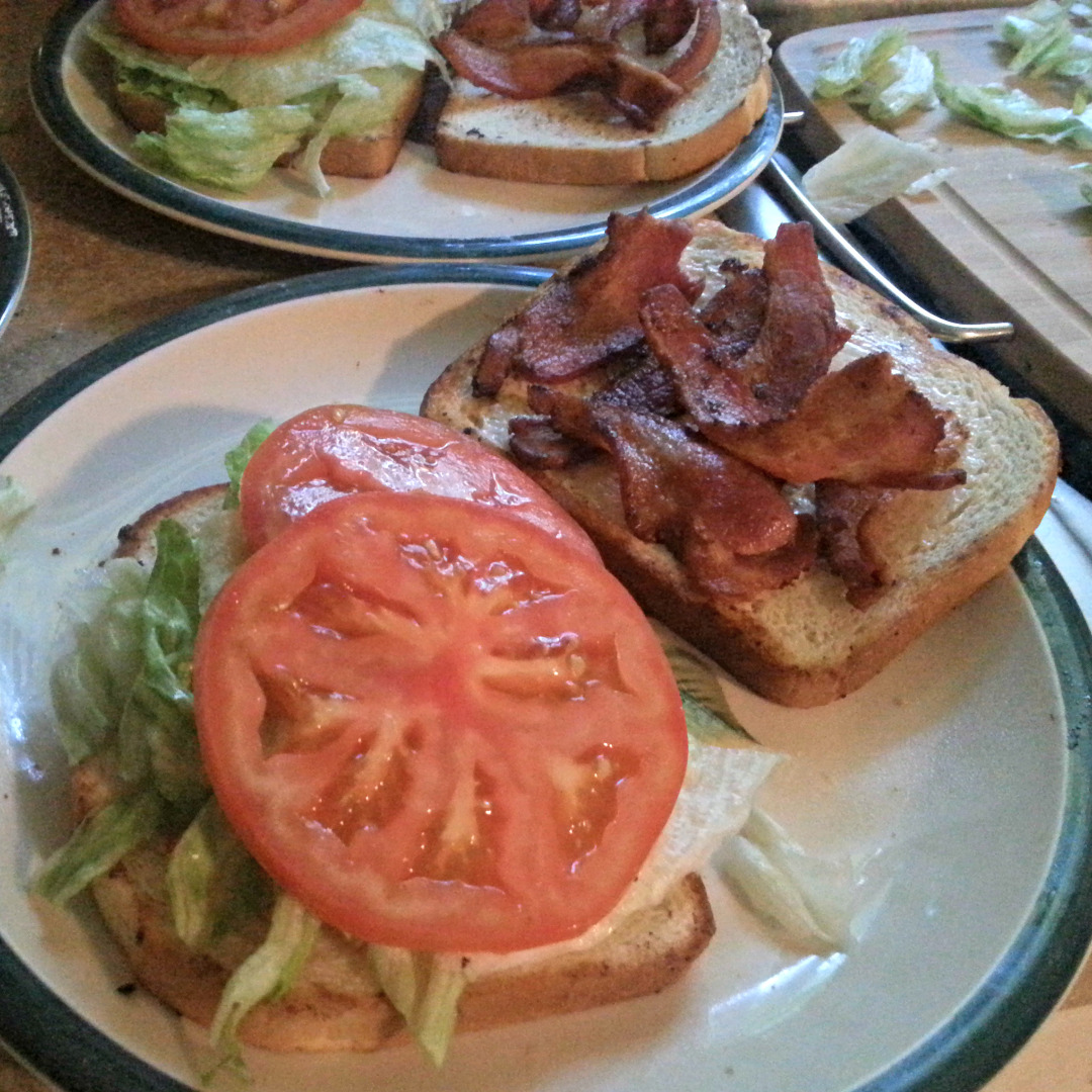 Picture of Old-fashioned BLT Sandwich